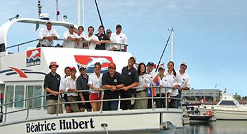 L'équipe Excursions en Mer